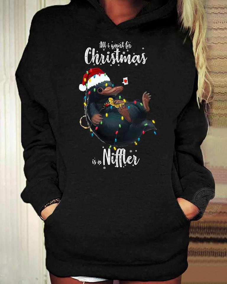 All I want for christmas is a Niffter Shirt