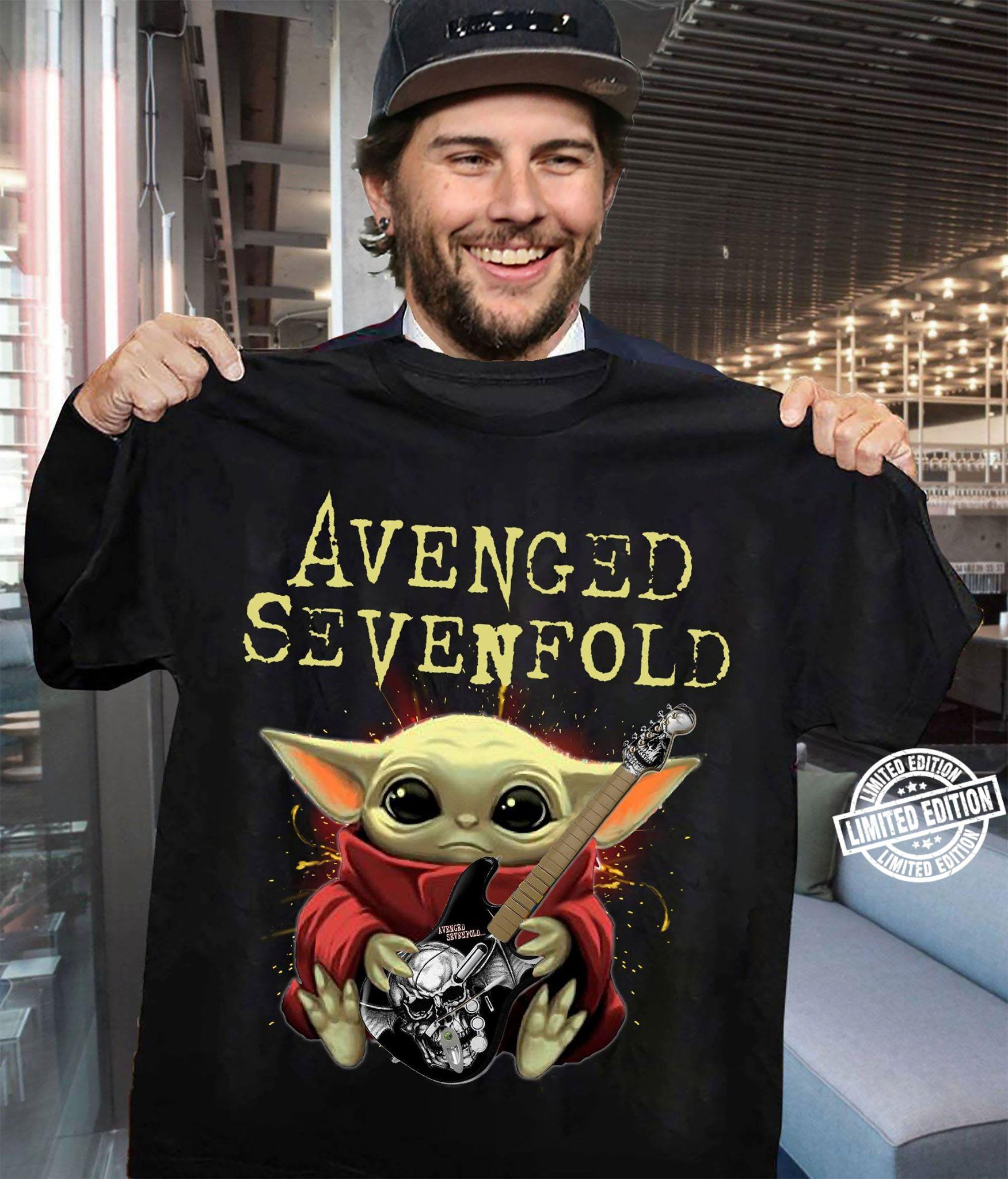 Baby Yoda Avenged sevenfold shirt
