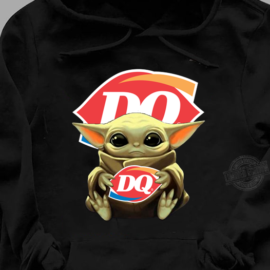 Baby Yoda Hug DQ Shirt