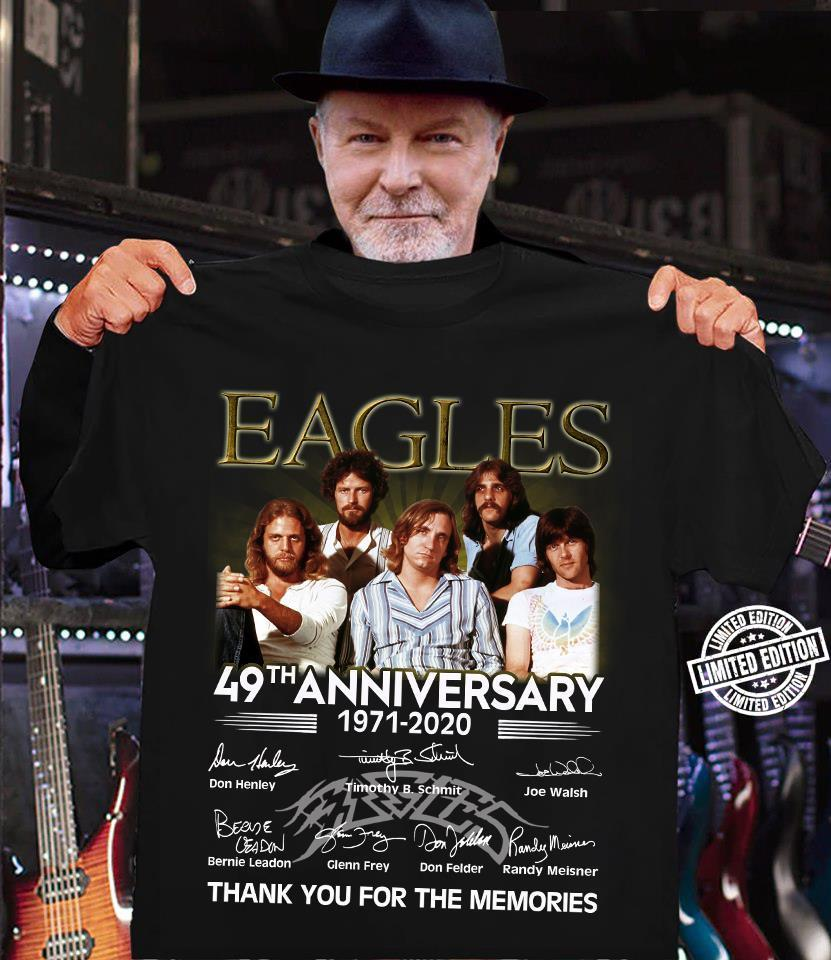 Eagles 49th anniversary thank you for the memories shirt