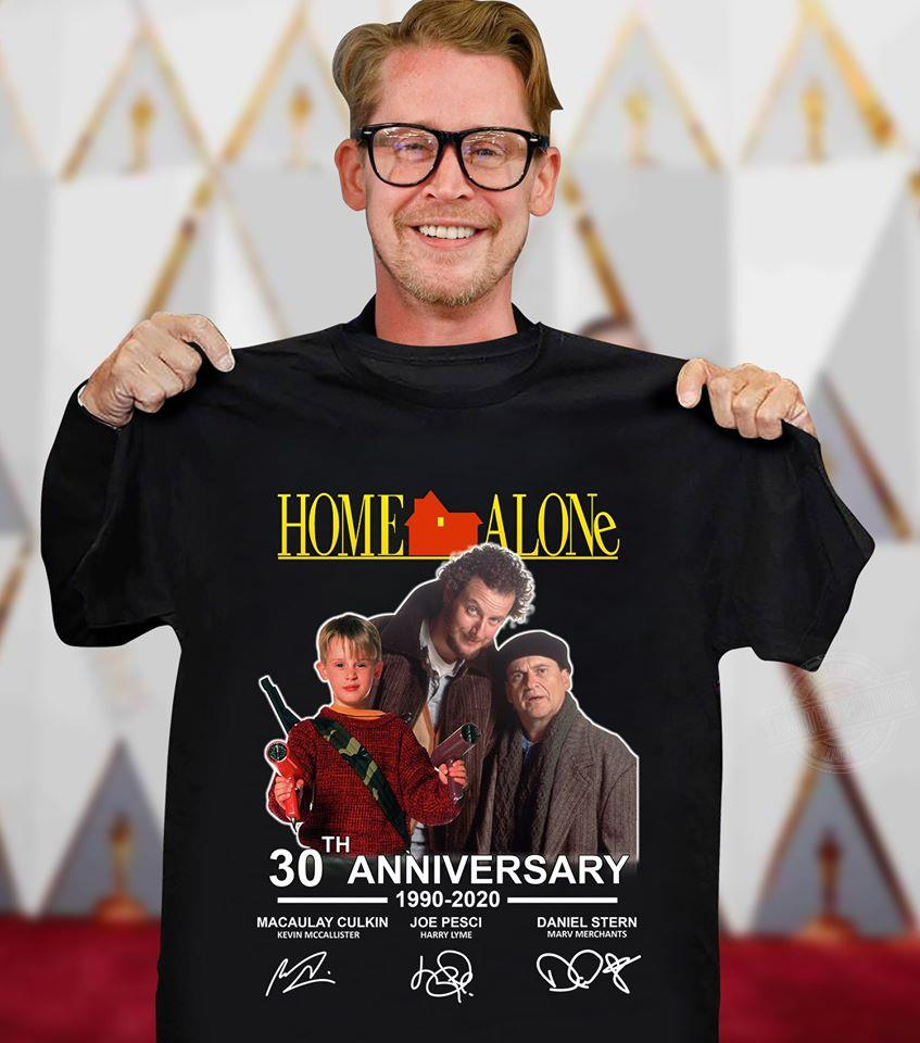 Home Alone 2020.Home Alone 30th Anniversary 1990 2020 Shirt