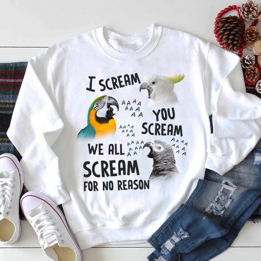 I scream you scream we all scream for no reason Shirt