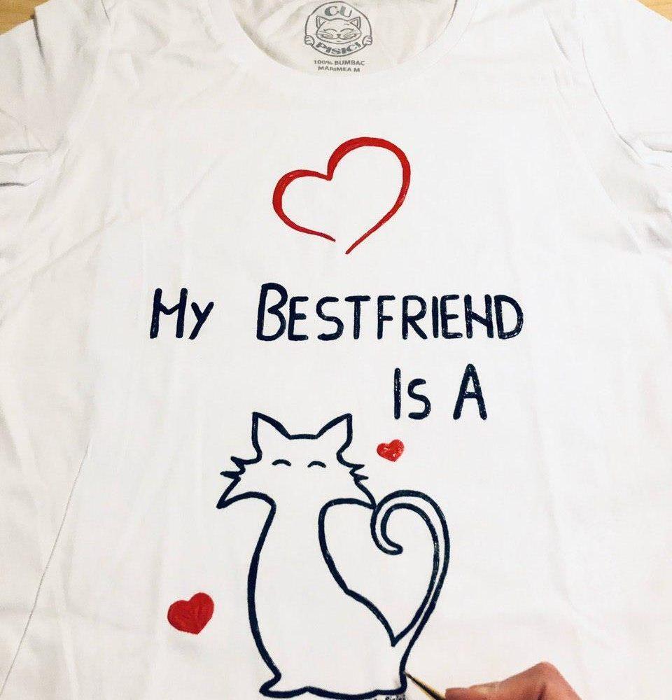 My bestfriend is a cat Shirt