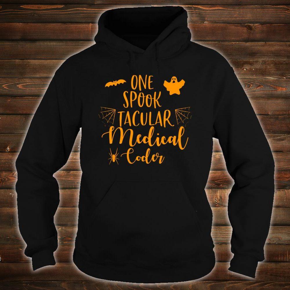 One spook tacular medical coder shirt hoodie