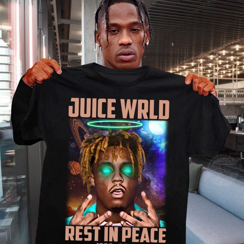 Rip Juice Wrld Rest In Peace 1998-2019 Shirt
