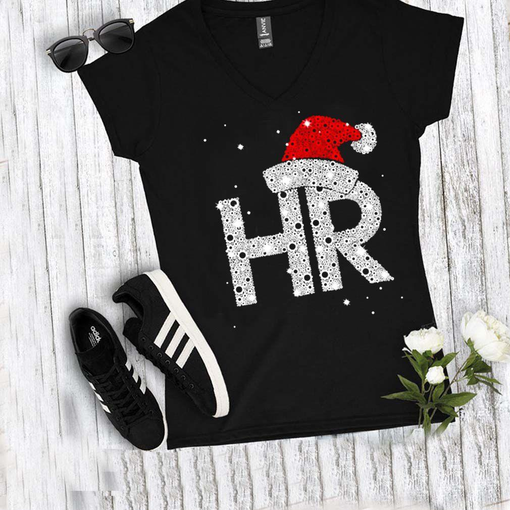 Santa Hr Human Resources Diamond Christmas Shirt